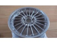 """BMW Alpina 18"""" alloy wheels x4 just refurbed with centre caps E36 E46 E90 E91 E92 M3"""