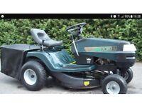 Hayter ride on mower like new