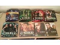CSI BOX SETS, SOME UNOPENED