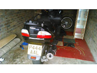 suzuki burgman executive 08reg private plate.
