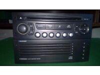 Peugeot 207. 307. Citroen. C2. C3. 5. Disc. Changer. Radio. Stero. Blaupunkt