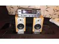 AIWA Amplifier/SONY Speakers