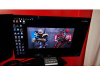Medicore Gaming Pc With 3D ready Monitor (LG)