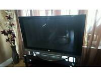 """55"""" LG TV with stand"""