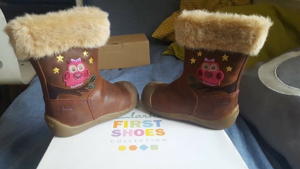 girls winter boots from clarks