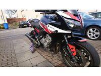 2008 58 plate Yamaha Fazer FZ1