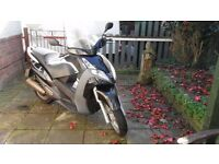 Peugeot Geopolis 125 Scooter Mot and taxed May 2017