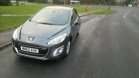 Peugeot 308 1.6 hdi active, low miles 21,000 miles £20 Tax