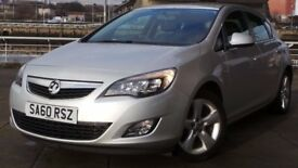 2010 60 VAUXHALL ASTRA 1.6 SRI 5d 113 BHP ***FINANCE AVAILABLE***CHEAPER PART EX WELCOME***