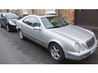 Mercedes CLK 320 1998 Selling as Spares or Repair.(RELISTED DUE TO TIMEWASTER)