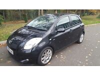 2008 TOYOTA YARIS SR 1.4 DIESEL AUTOMATIC SAT NAV ALLOYS TOP SPEC LOW MILES!