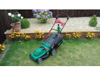 Qualcast (RM37) 37cm Cut Electric Lawnmower In Great Condition