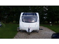 Swift Major4 SB caravan 2015. Motor mover/Microwave/CD/Radio player/porch awning/many extras.