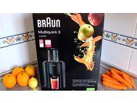 BRAUN J300 Multiquick Juicer - Black