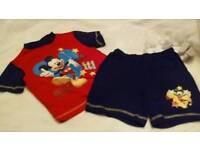 Boy's pyjama sets 12-18 months