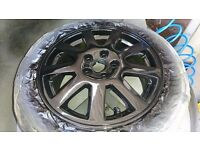 Alloy Wheel Refurbishment. Mobile service. Prices from £35.00 per wheel