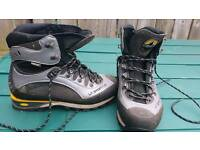 Walking boots size 8