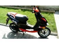 Aprilia sr50 2003 scooter ex paddock bike