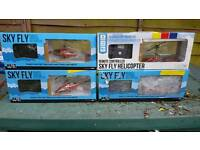 Job lot rc helicopters