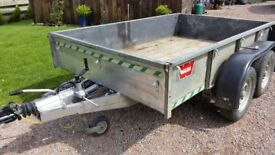 Ifor Williams double axle trailer type GD 85G