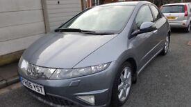 Honda Civic 1.8 i-VTEC EX-T 5dr Automatic *TOP SPEC* Honda Service