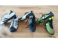 football boots and trainers