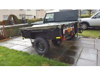 King trailer for land rover