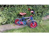Spiderman bike - 10 inch
