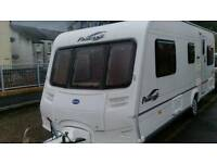 Bailey pageant 2005 4 berth fixed bed