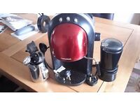 Morphy Richards Accents Coffee Maker - Red/Stainless Steel