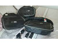 Givi pannier and top box soft bags