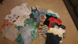 Baby Boy 3-6 month summer clothes bundle