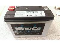 Westco WCP18 battery. Bike, Track car etc