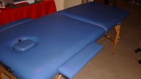 A almost new Massage/reiki Bed