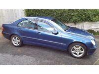 Mercedes C220 CDI 2003 Blue