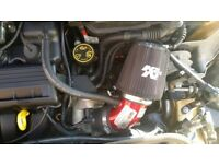 BMW Mini K&N Induction Kit hardly used was removed a few weeks after fitting