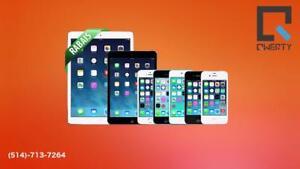 Réparation  iPhone iPad Samsung LG   QWERTY FIX- Bas prix, rapide et 100% garanti 3 mois