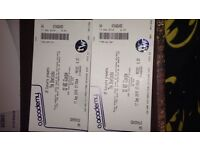 2x the sherlocks tickets glasgow 17th