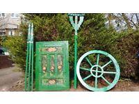Lotus Flower Green Glamping Yurt - 5m Diameter - Ideal for glamping / garden furniture