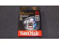 SANDisk Extreme Pro SDXC UHS-I card 64GB NEW UNUSED