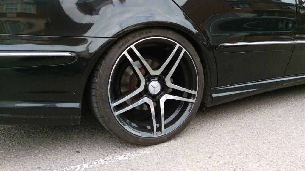 19 Inch Mercedes Amg Type Alloy Wheels And Tyres E C S