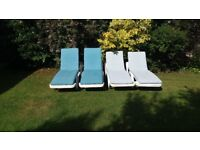 Sun Lounger CUSHIONS ONLY (not the sun loungers)