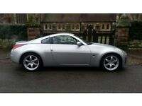RARE 2004 NISSAN 350Z UK SPEC GT PACK 55500 MILES ONLY FULL HISTORY LOW ROAD TAX NO RUST