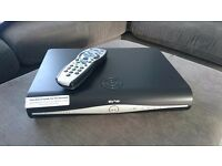 Sky +HD box with remote and new power cable