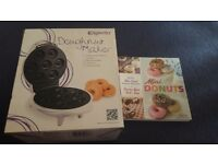 Doughnut making machine with reciepe book