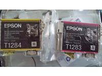 2 free Epson FOX ink cartridges