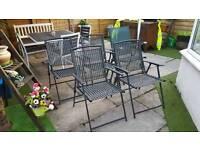 5 garden Chairs