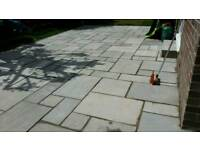 Paving flagging and driveways