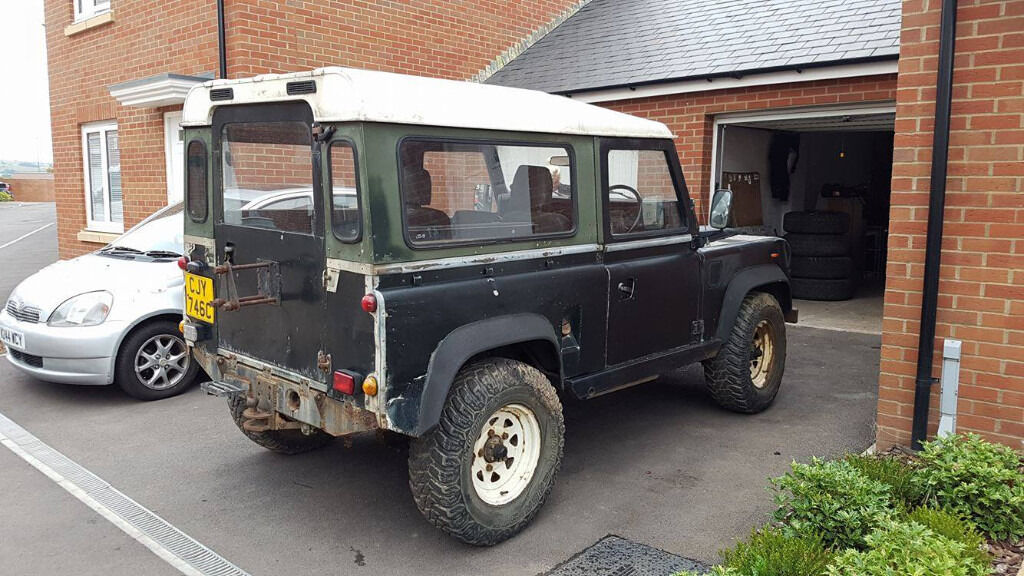 Land Rover Defender 90 88 Quot Barn Find In Taunton