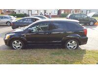 56 Plate Black Dodge Caliber 1.8 petrol for sale £2100